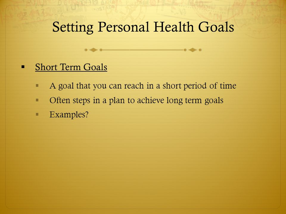 Goal Setting - ppt video online download