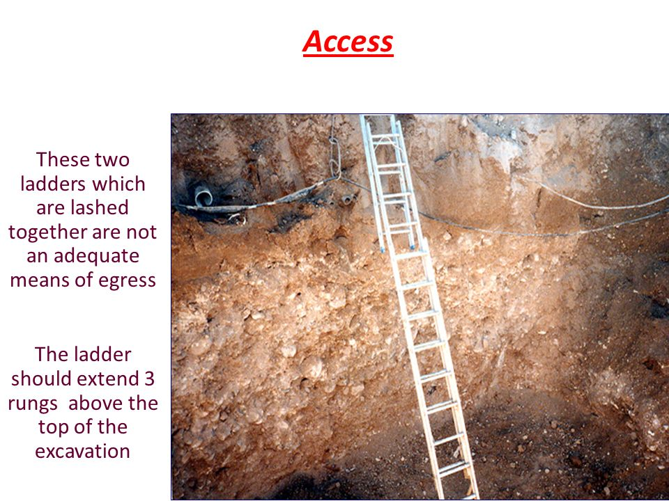 Excavations Trenching Ppt Video Online Download
