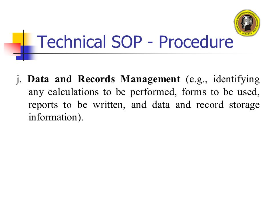 Oleh Dr Sunny Arief SUDIRO - ppt video online download - why sop is used