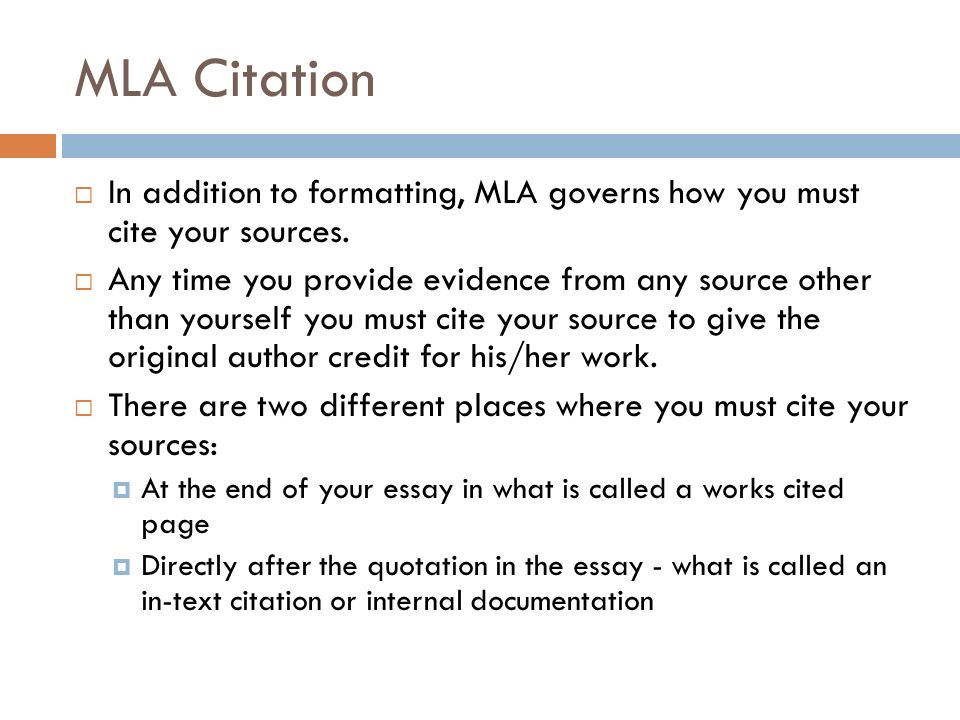 Mla citation from an essay Homework Writing Service bccourseworknosk
