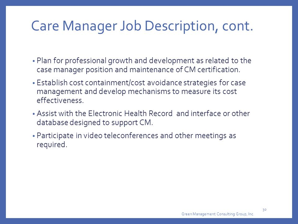 PCMH Focus on The Care Team  Huddles - ppt download - case management job description