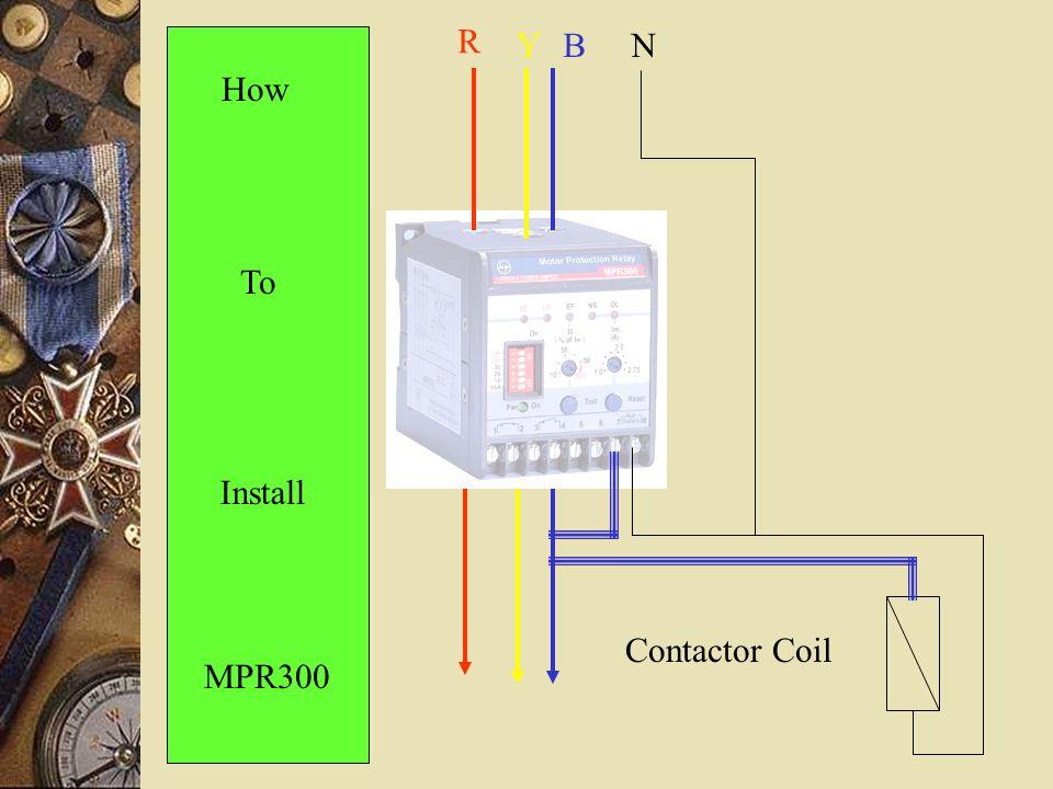 Comparison between MPR300  Bimetal relays - ppt download