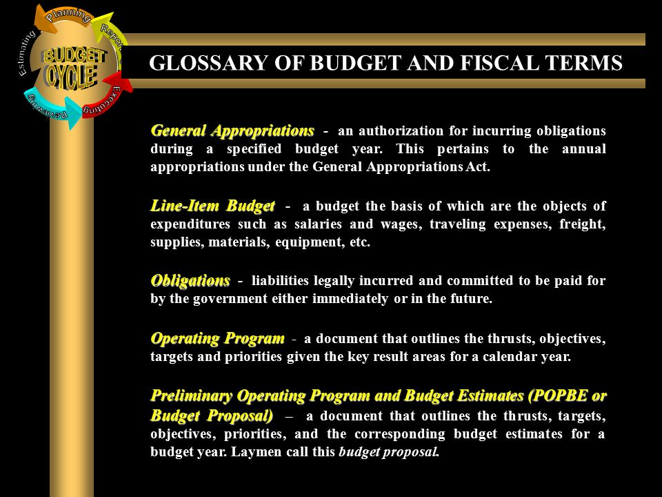 The National Budget System - ppt download