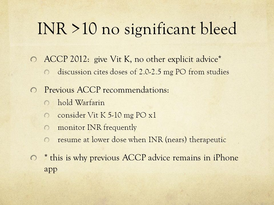 Safe Effective Use of Warfarin - ppt download