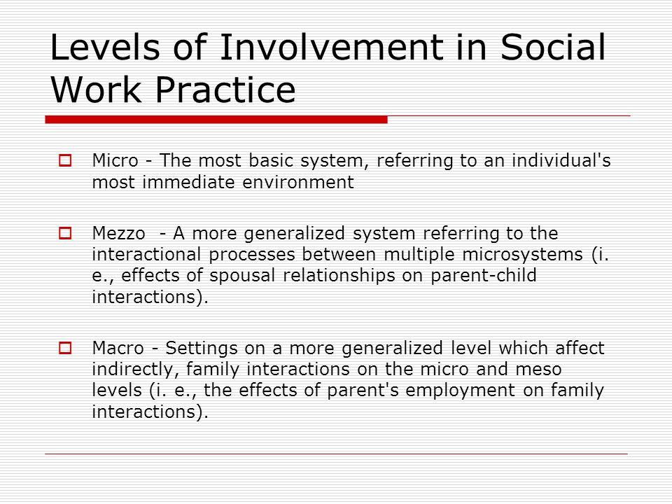 Macro Practice in Social Work - ppt download
