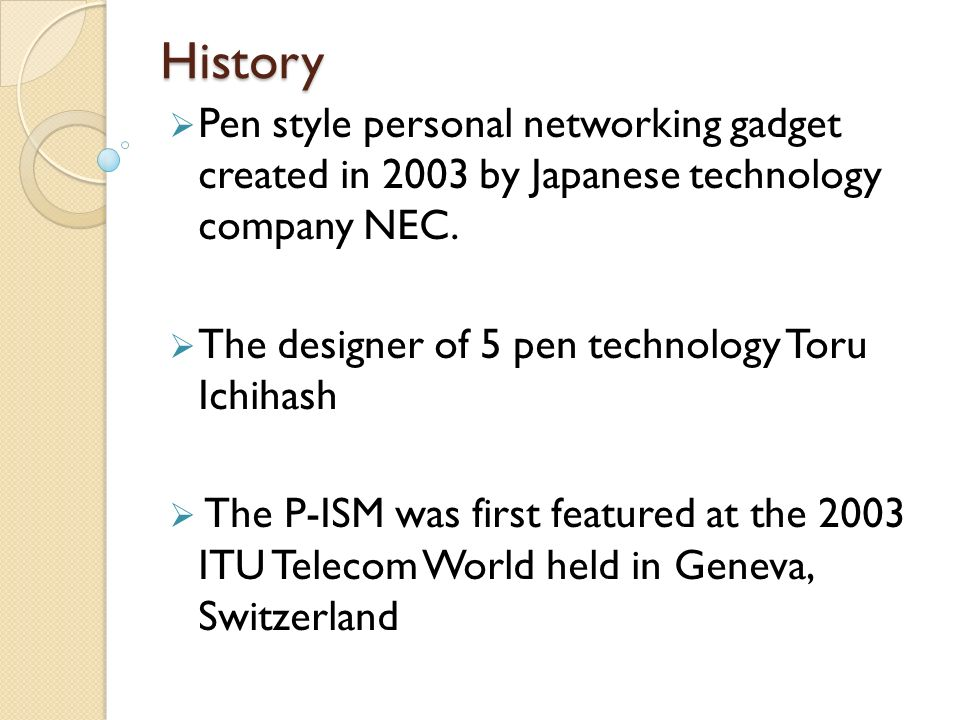 5 PEN PC TECHNOLOGY - ppt download
