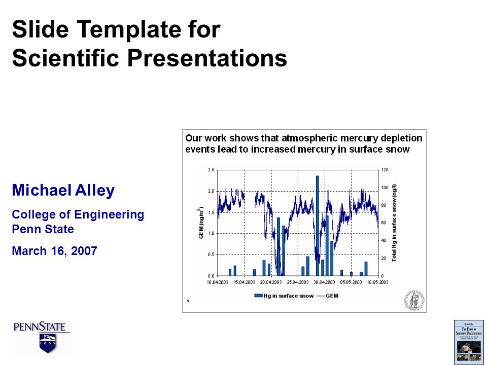 Scientific Presentations - ppt video online download