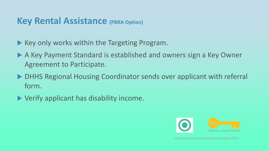 NC Rental Assistance Programs - ppt download