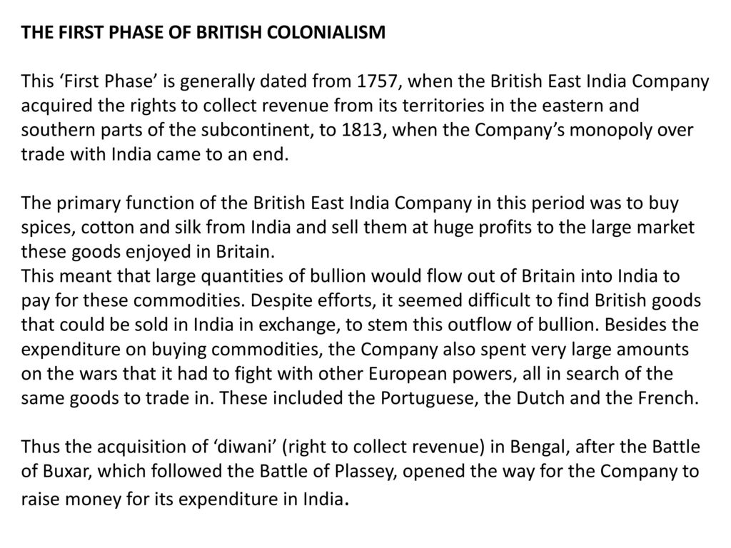 Define Diwani Rights British Colonialism In India Ppt Video Online Download