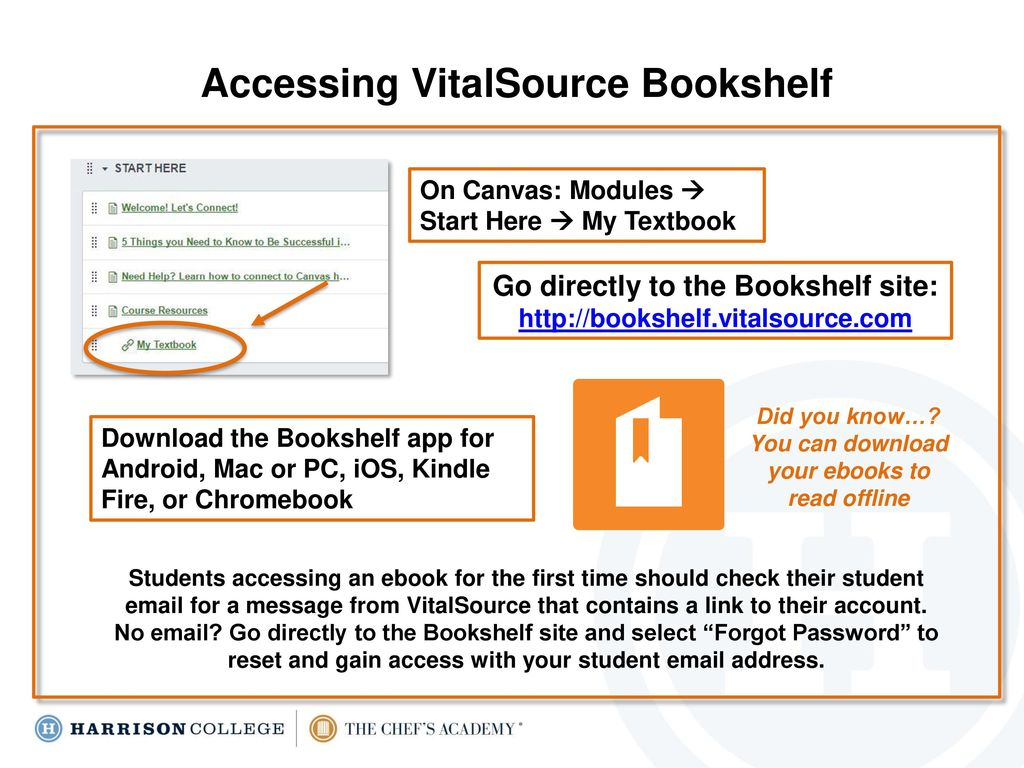 Accessing And Using Your Vitalsource Ebook Ppt Download