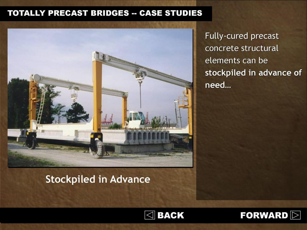 Precast Bridges Totally Precast Concrete Bridges Ppt Download
