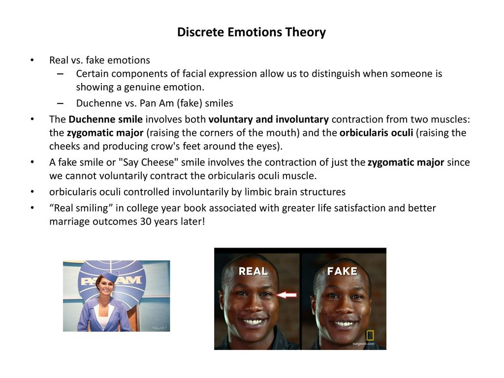 Duchenne Marker Smile Discrete Emotions Theory 1 Of 5 Lo Ppt Download
