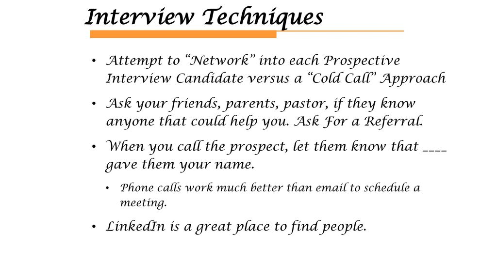 The Interview Customer Discovery - ppt download