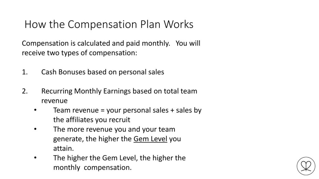 Affiliate Compensation Plan - ppt download