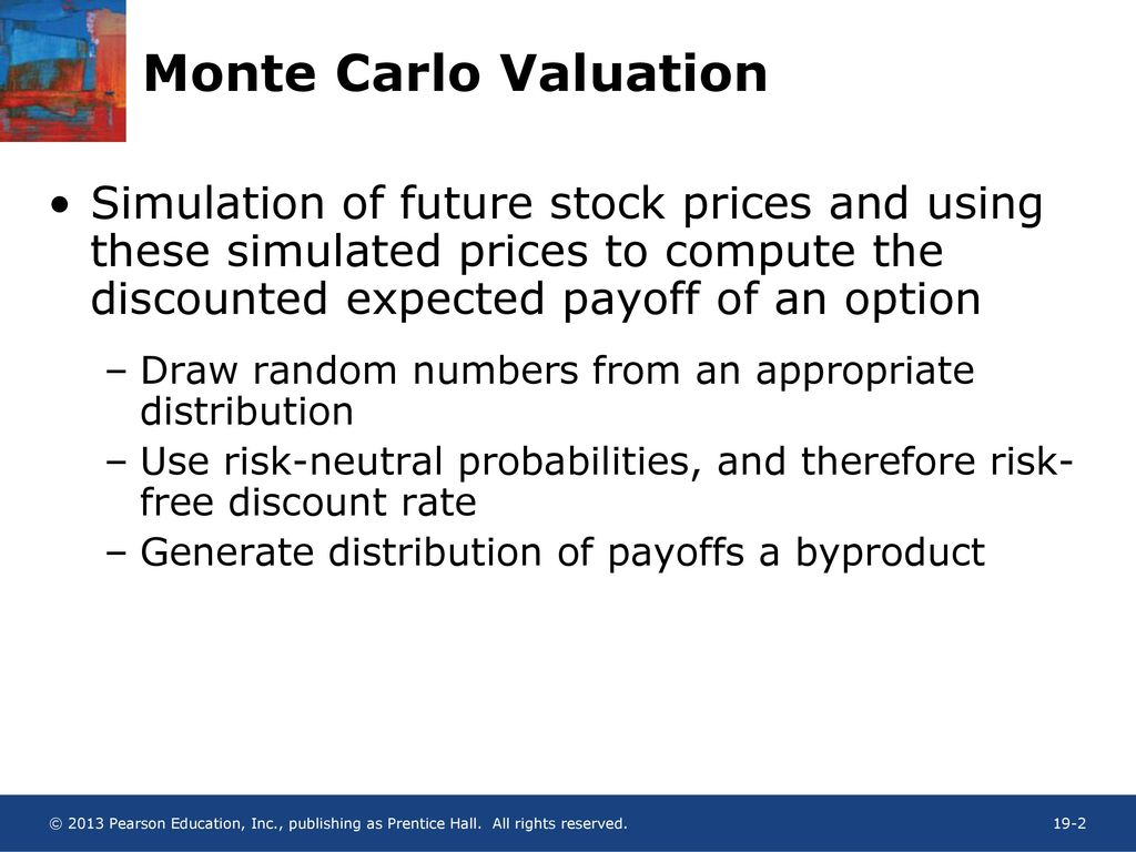 Vba Stock Simulation Chapter 19 Monte Carlo Valuation Ppt Download