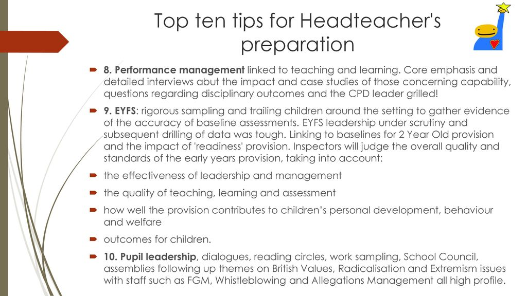 Ofsted \u2013 A Headteacher\u0027s perspective - ppt download