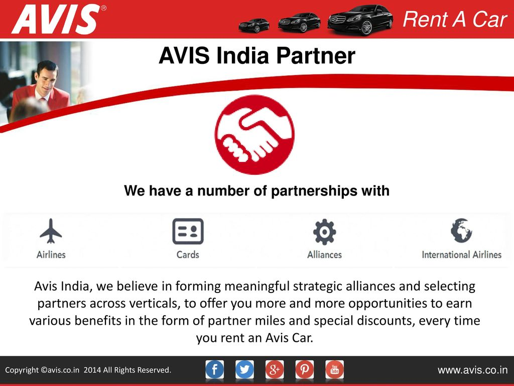 Miles And More India Rent A Car Copyright Avis Co In 2014 All Rights Reserved Ppt Download