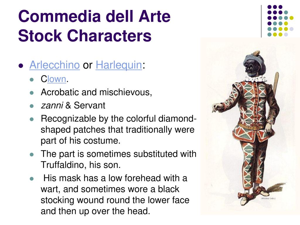 Commedia Dell'arte Word Meaning Commedia Dell Arte The Comedy Of Art Ppt Download