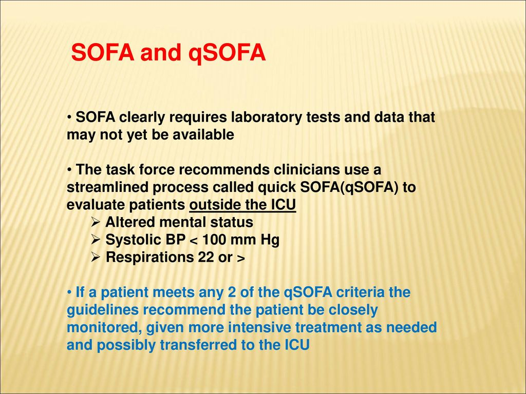 Difference Between Qsofa And Sofa Qsofa Criteria Simple Qsofa Criteria With Qsofa Criteria Amazing