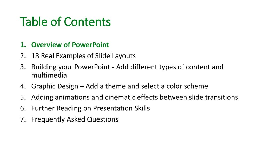 A PowerPoint about how to Create PowerPoints - ppt download - types of power points