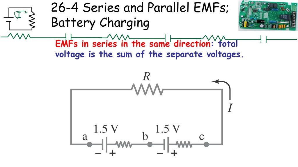 Chapter 26DC Circuits Chapter 26 Opener These MP3 players contain
