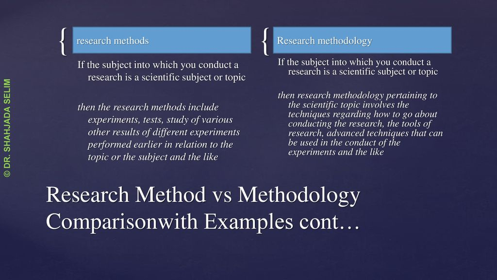 Research Methodology  Research Design - ppt download