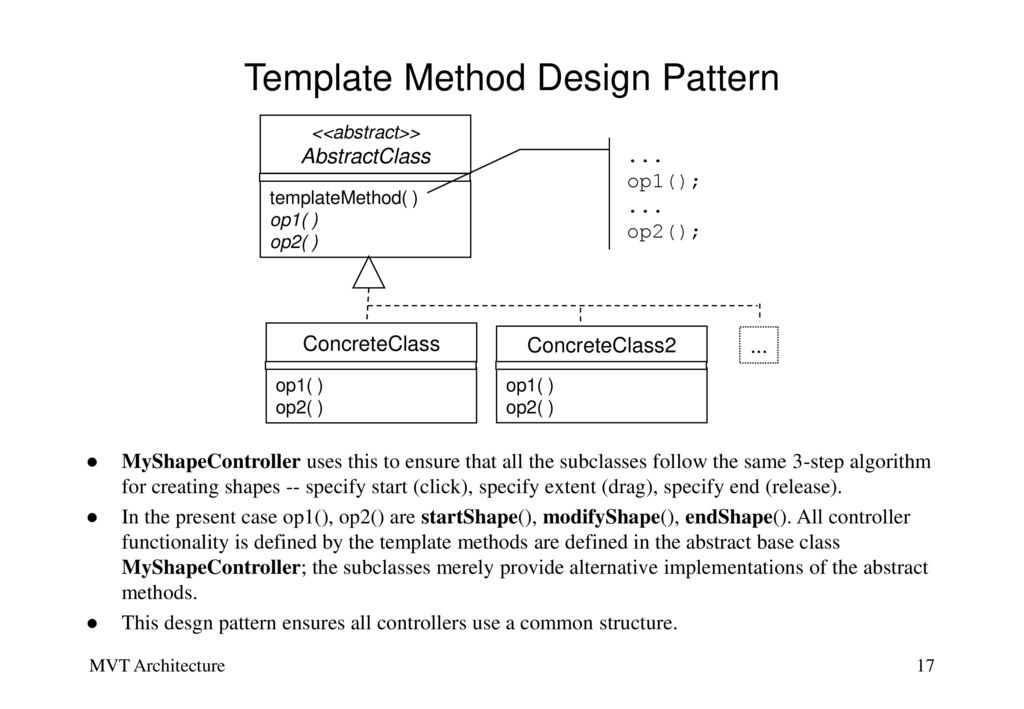 Case Study A GUI Application using Design Patterns - ppt download