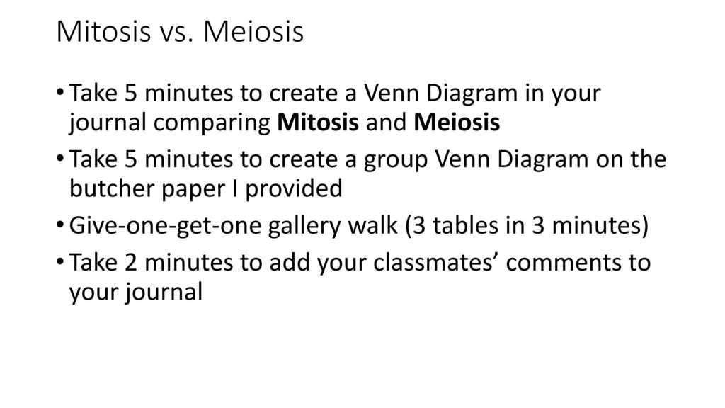 Standard recognize the significance of meiosis to sexual