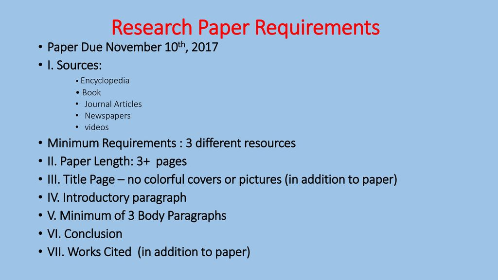 Writing a Research Paper - ppt download - research paper covers