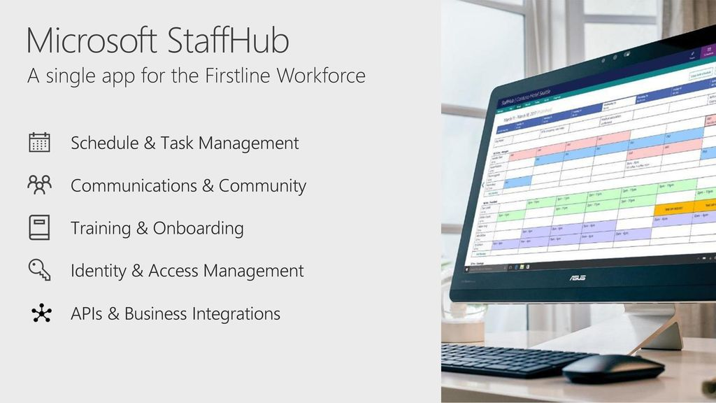 7/2/2018 407 PM BRK2042 Making StaffHub work for your organization