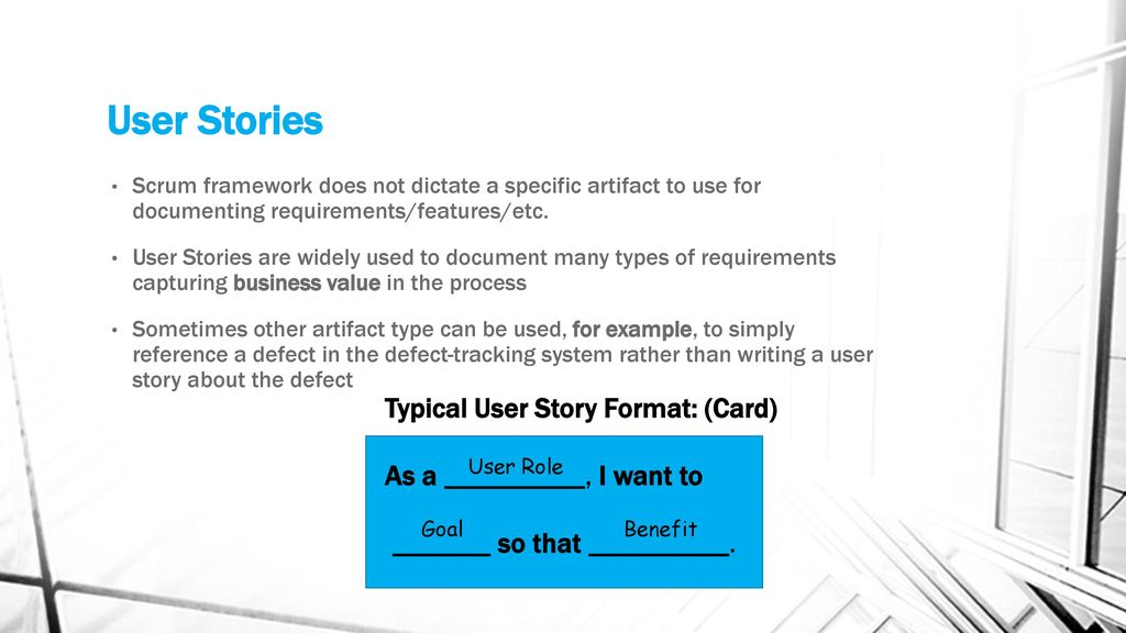 Requirements and User Stories - ppt download