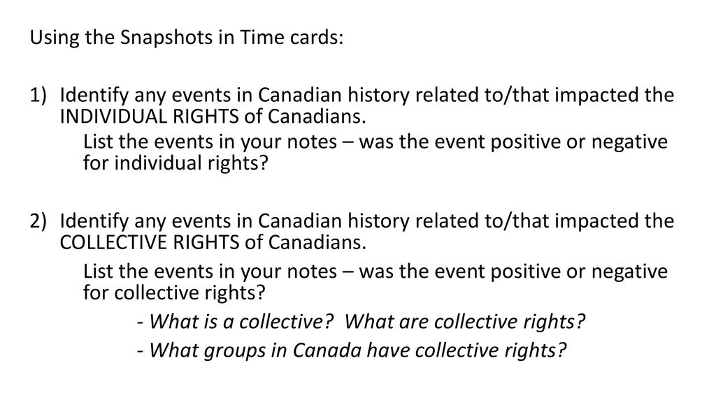 Using the Snapshots in Time cards - ppt download