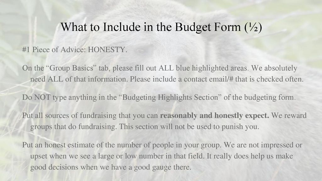 Final Budgeting (FY19) Student Group Presentation - ppt download