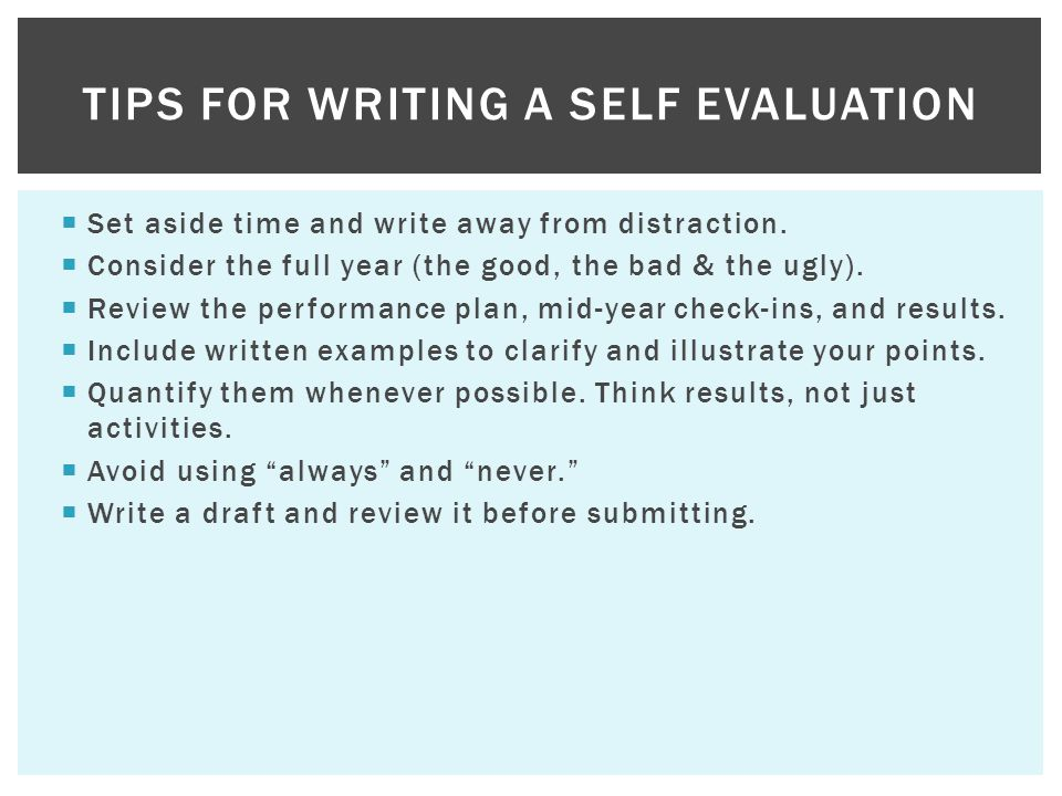 Writing self performance reviews Essay Academic Service