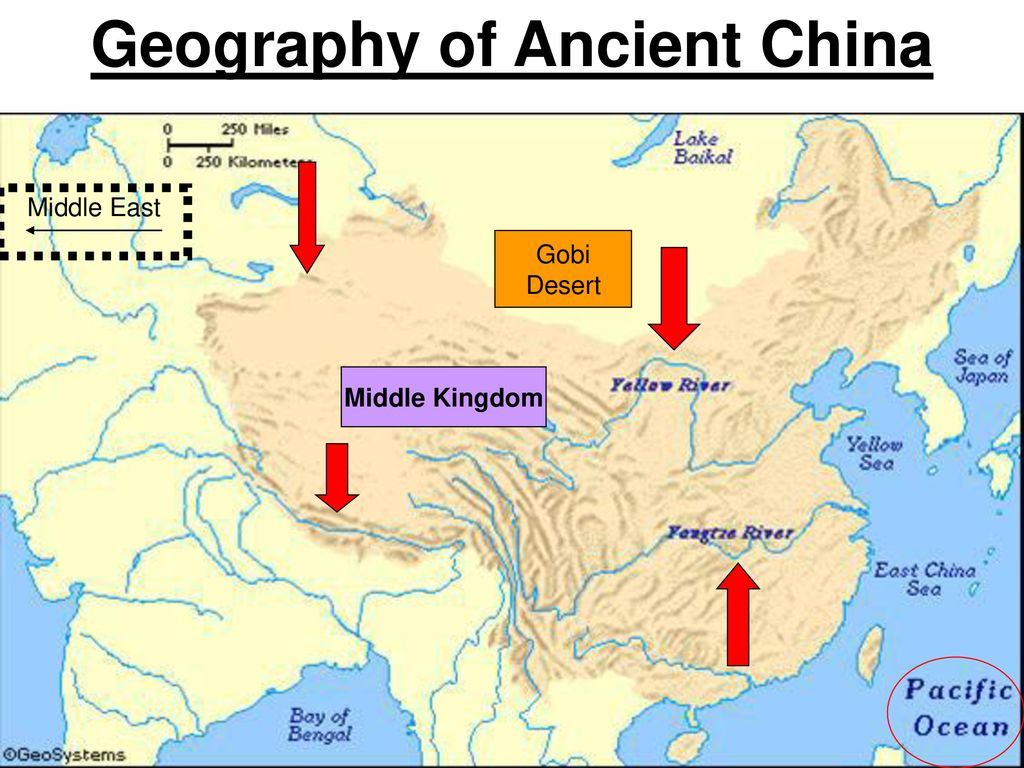 Chinese Geography Geography Of Ancient China Ppt Download