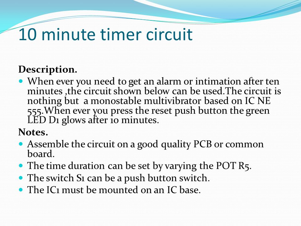 Measurment project Seven Segment Counter Display Circuit - ppt video