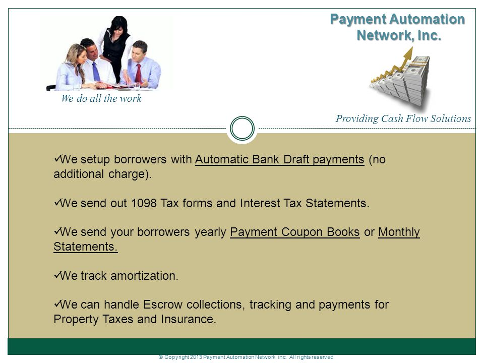 Payment Automation Network, Inc - ppt download
