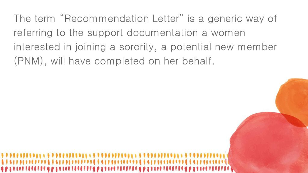 Confused on the recommendation letter process? - ppt download