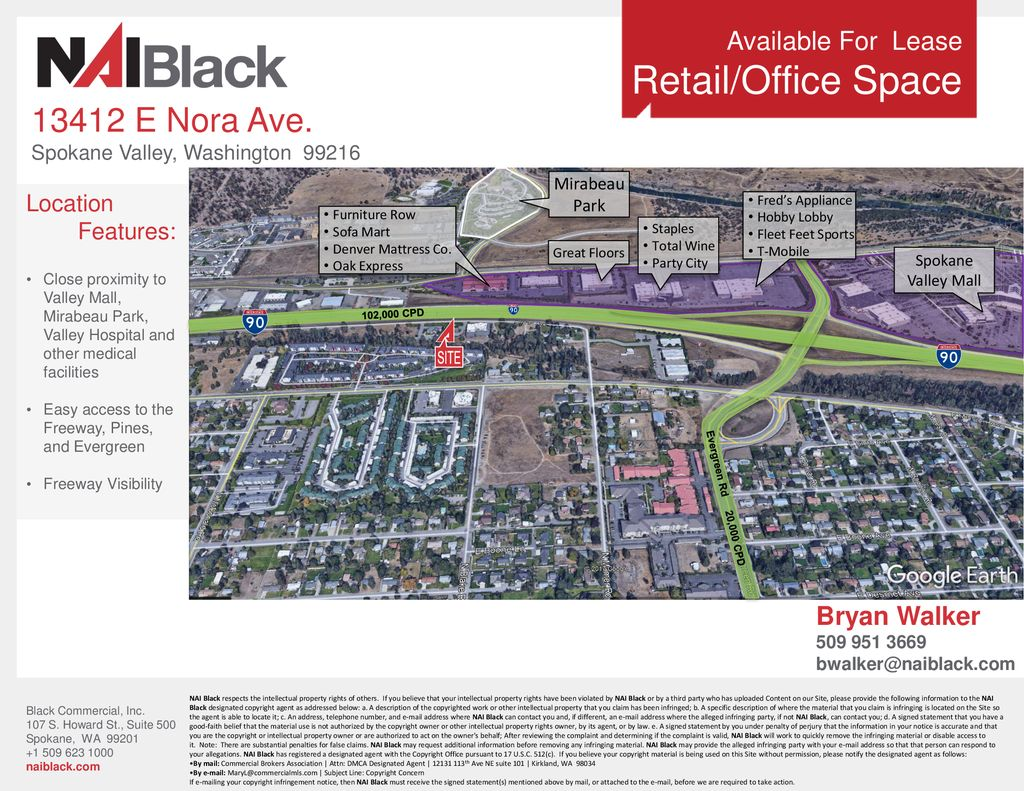 Sofa Mart Spokane Valley Wa Retail Office Space 12 00 Sf E Nora Ave Lease Rate Ppt Download
