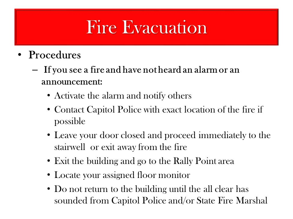DFA Emergency Procedures - ppt video online download