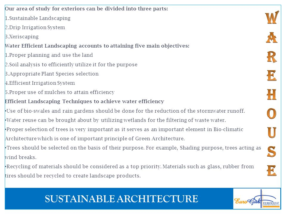 Sustainable Architecture Ppt Download