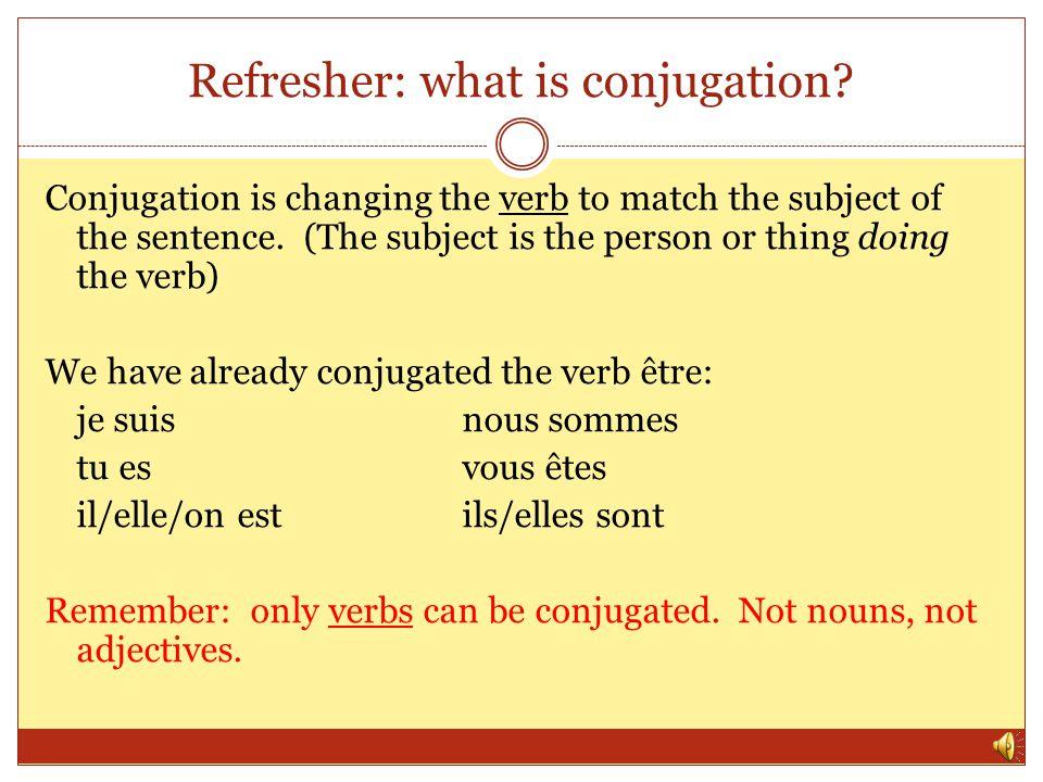 er\u201d verb conjugation - ppt video online download
