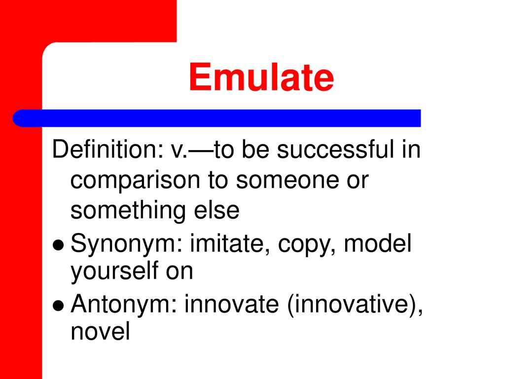 Synonym Innovativ Vocabulary Words World Literature Ppt Download