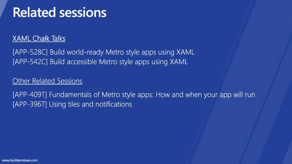 Metro style apps using XAML What you need to know - ppt download