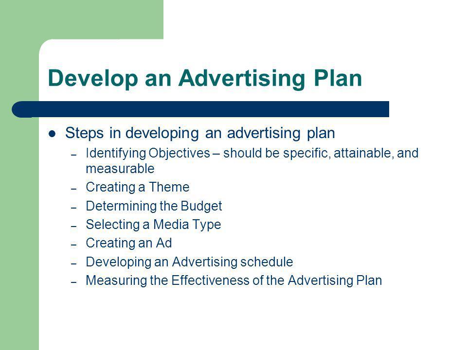 Advertesing plan College paper Help - advertising plan