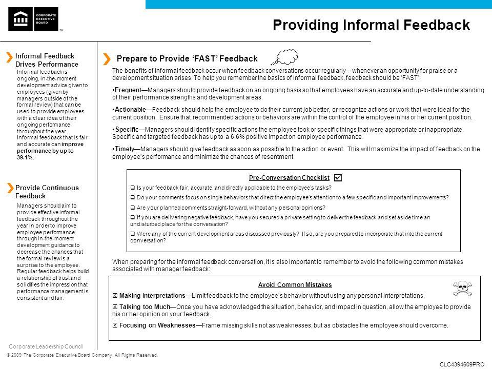 Pre-Conversation Checklist - ppt download