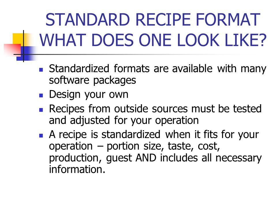 recipe cost card template zaxastandardized recipe templates