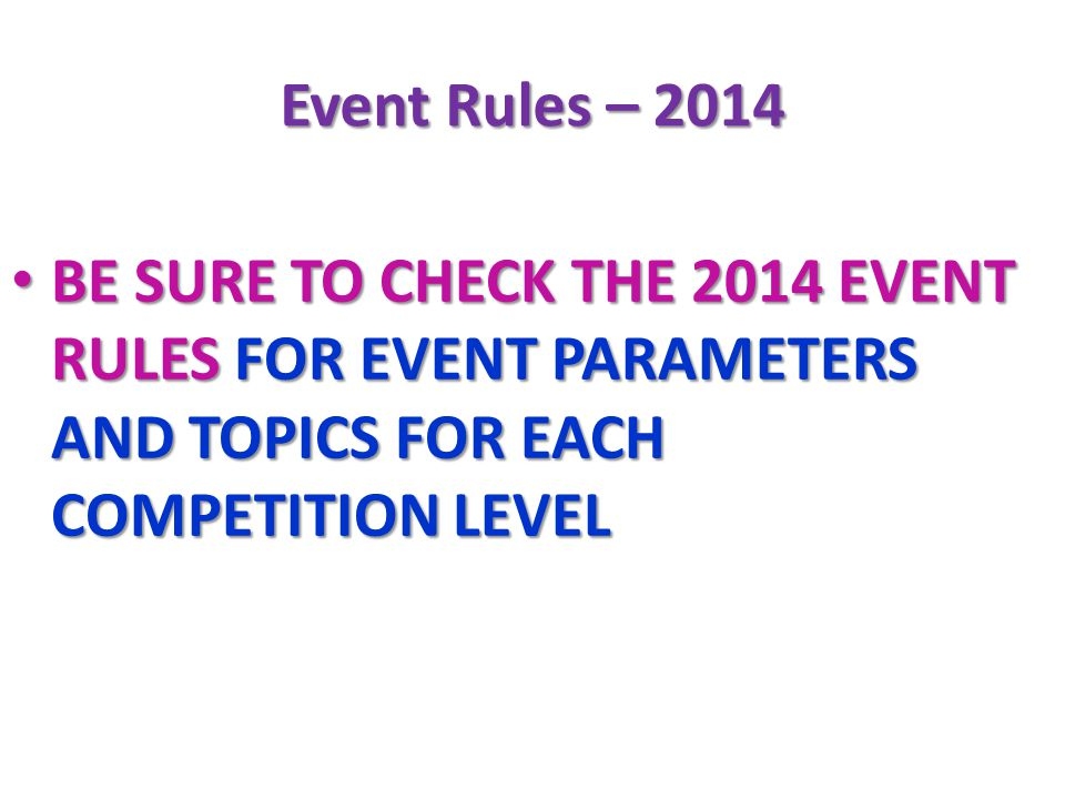 2014 science olympiad rules manual