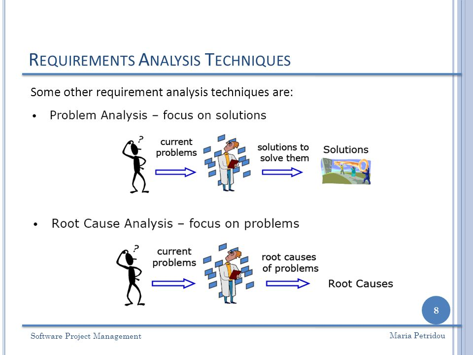 Lecture 6 \u2013 Requirement Analysis - ppt video online download - requirement analysis