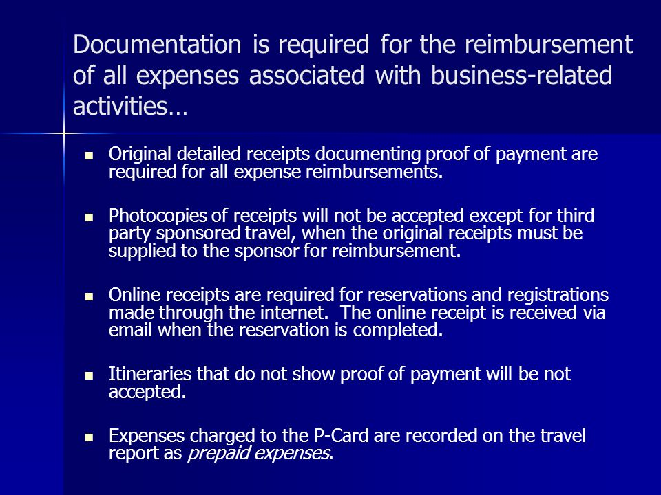 BUSINESS TRAVEL AND EXPENSE REPORTING AND POLICIES - ppt video